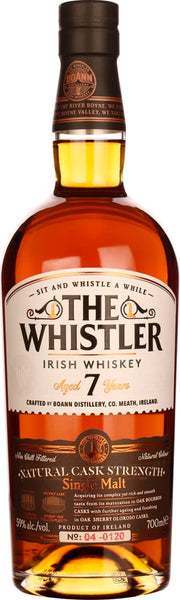 The Whistler seven years Cask Strength 70CL - Aristo Spirits