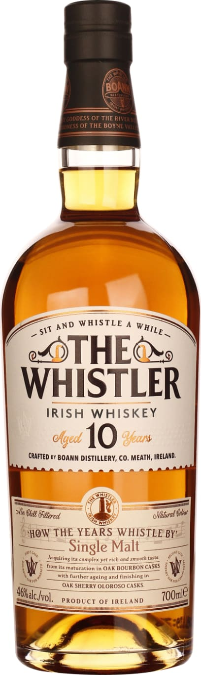 The Whistler 10 years How The Years Whistle By 70CL - Aristo Spirits