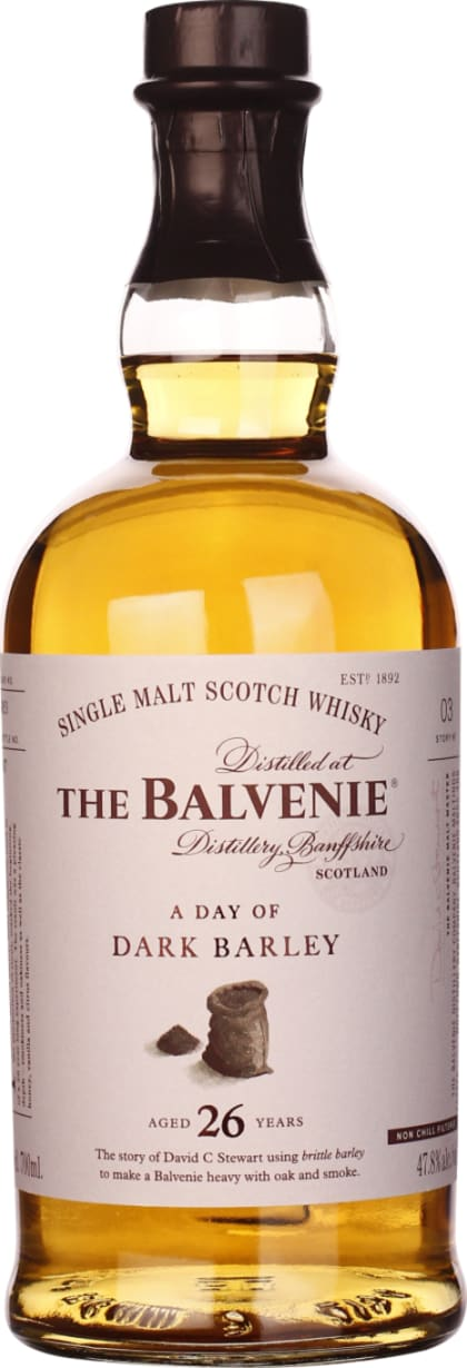 Balvenie 26 years A Day of Dark Barley Single Malt 70CL - Aristo Spirits