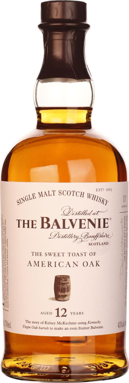 Balvenie 12 years The Sweet Toast Of American Oak 70CL - Aristo Spirits