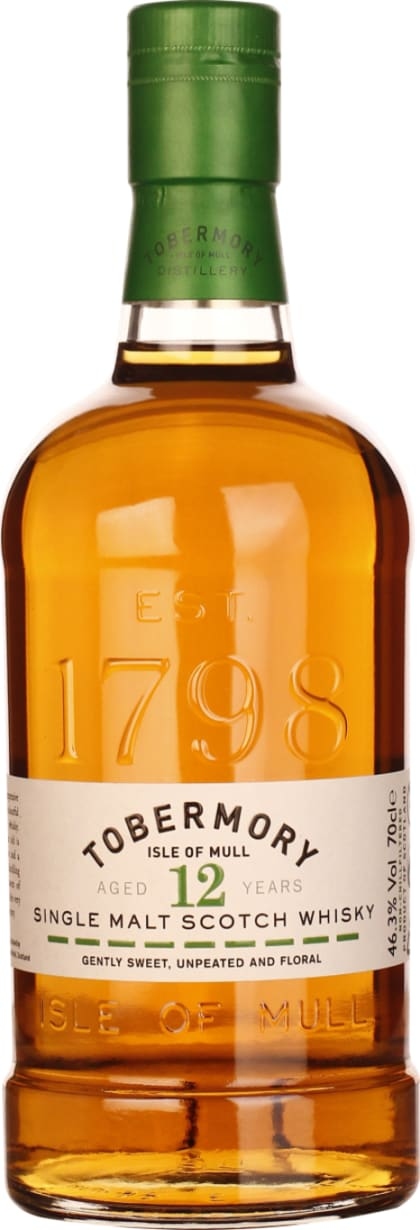 Tobermory Single Malt 12 years 70CL - Aristo Spirits