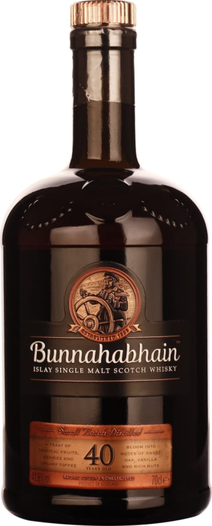 Bunnahabhain Single Malt 40 years 70CL - Aristo Spirits