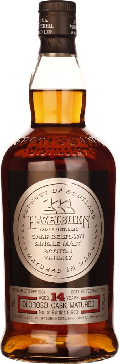 Hazelburn 14 years Oloroso Cask 70CL - Aristo Spirits