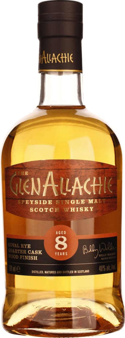 GlenAllachie eight years Koval Quarter Cask Rye 70CL - Aristo Spirits