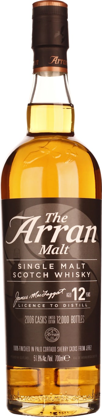 Arran 12 years in 2006 Master of Distilling II 70CL - Aristo Spirits