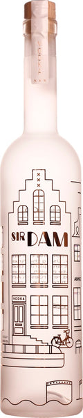 Sir Dam Premium Vodka 70CL - Aristo Spirits