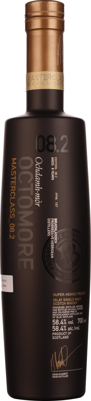 Octomore 8.2 Masterclass 8 years 70CL - Aristo Spirits