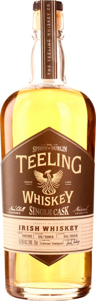 Teeling 11 years Single Cask Cabernet Sauvignon 2004 70CL - Aristo Spirits