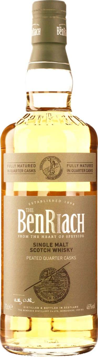 Benriach Peated Quarter Cask Single Malt 70CL - Aristo Spirits