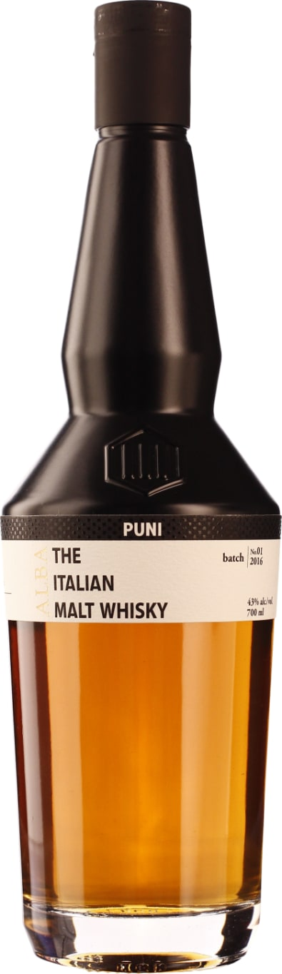 Puni Alba 3 years Single Malt Italian Sicilian Marsala Casks 70CL - Aristo Spirits