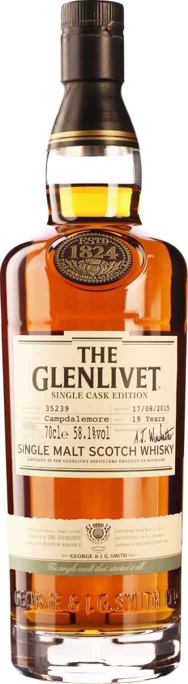 The Glenlivet 19 years Camp Dale More 70CL - Aristo Spirits