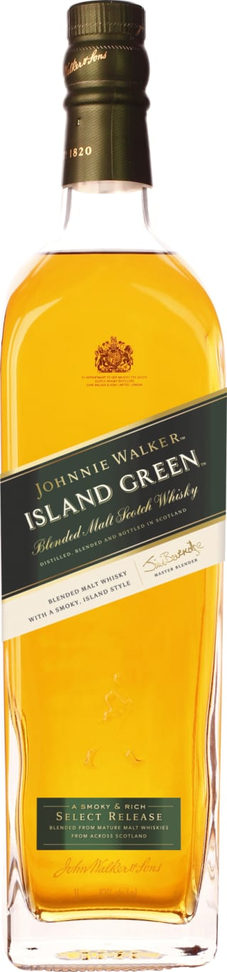Johnnie Walker Green Island 1LTR - Aristo Spirits