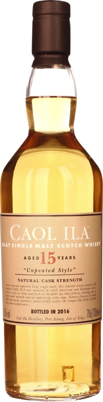 Caol Ila 15 years Unpeated Special Release 2016 70CL - Aristo Spirits