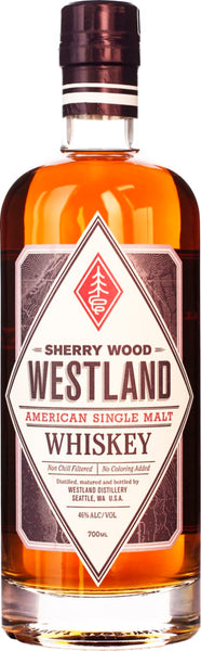 Westland Sherry Wood Single Malt 70CL - Aristo Spirits