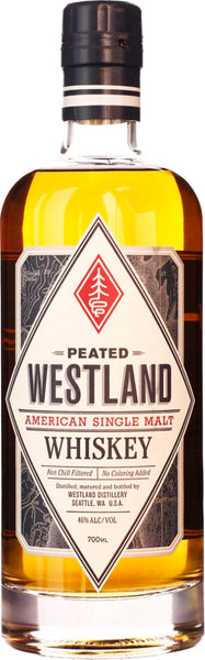 Westland Peated Single Malt 70CL - Aristo Spirits