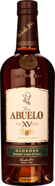 Abuelo XV Oloroso Sherry Cask Finish 70CL - Aristo Spirits