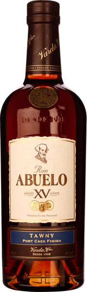 Abuelo XV Tawny Port Cask Finish 70CL - Aristo Spirits