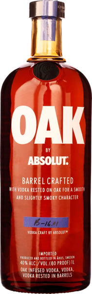 Absolut Oak 1LTR - Aristo Spirits