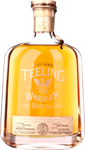Teeling 24 years Single Malt 70CL - Aristo Spirits
