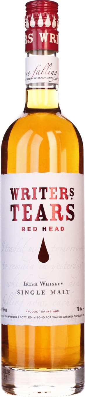 Writers Tears Red Head 70CL - Aristo Spirits