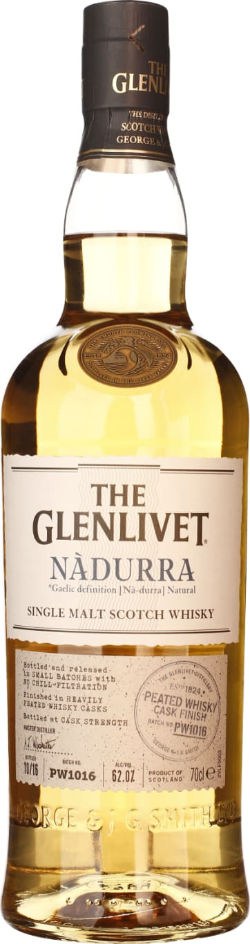 The Glenlivet Nadurra Peated Cask Finish PW1016 70CL - Aristo Spirits