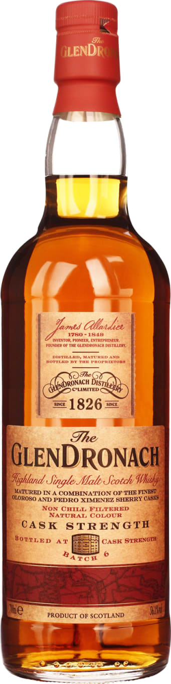 GlenDronach Cask Strength Batch 6 70CL - Aristo Spirits