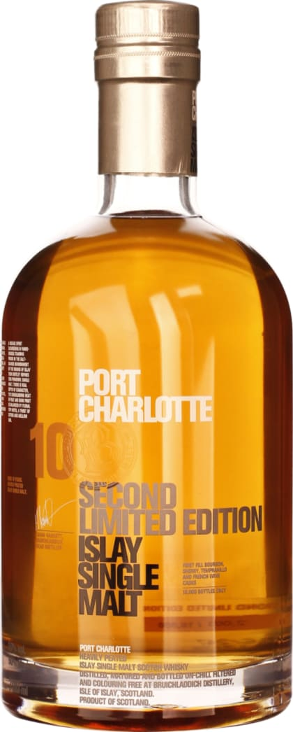 Port Charlotte 10 years Second Edition 70CL - Aristo Spirits