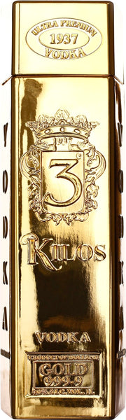 3 Kilos Vodka 1LTR - Aristo Spirits