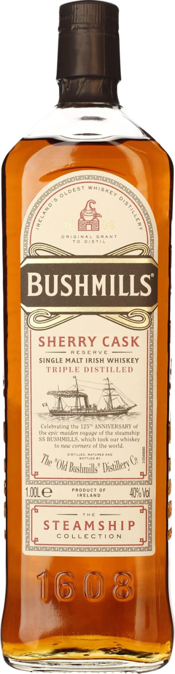 Bushmills Steamship Collection Sherry Cask Reserve 1LTR - Aristo Spirits