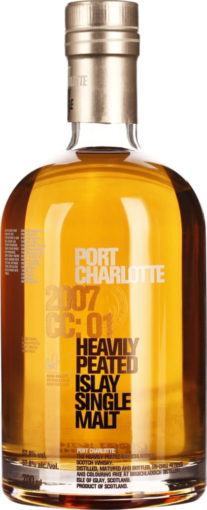 Port Charlotte 2007 Heavy Peated CC: 01 70CL - Aristo Spirits
