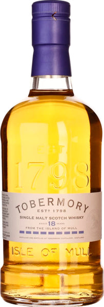Tobermory 18 years Single Malt 70CL - Aristo Spirits