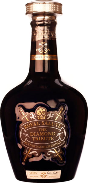 Chivas Regal Royal Salute 21 years Diamond Tribute 70CL - Aristo Spirits