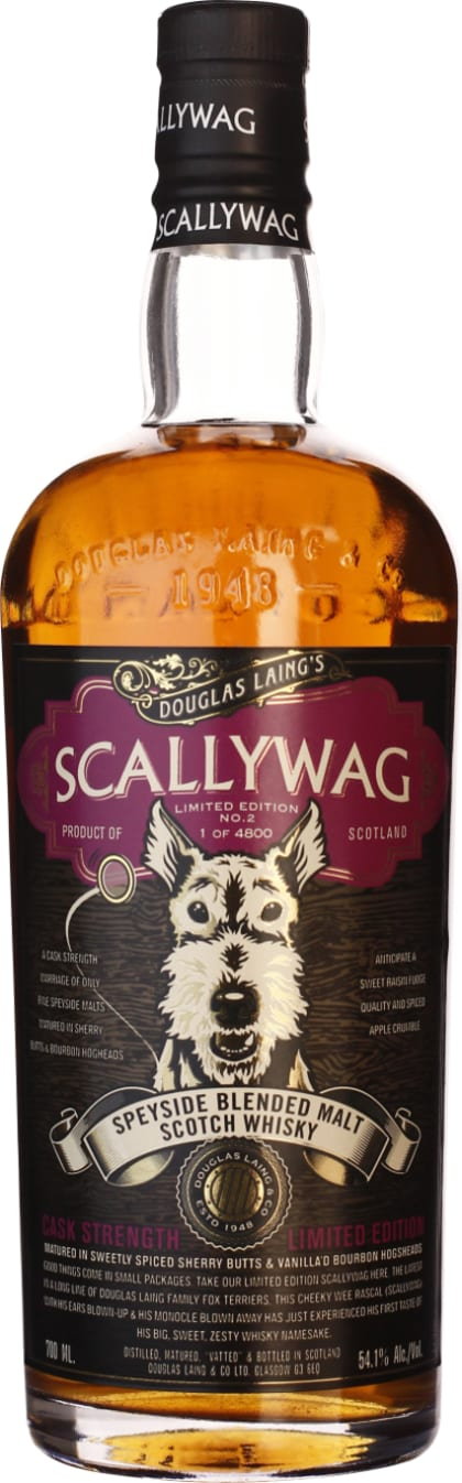 Scallywag Natural Cask Strength Limited No.2 70CL - Aristo Spirits