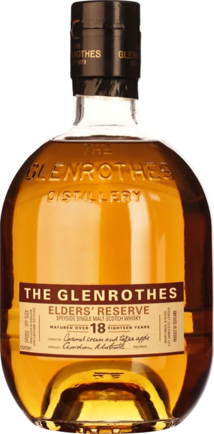 The Glenrothes 18 years Elsewhere Reserve 70CL - Aristo Spirits