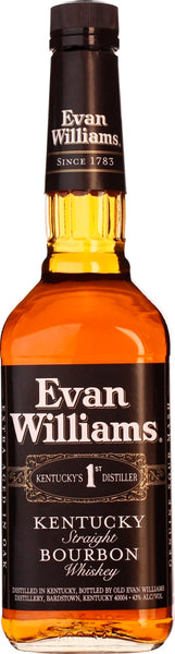Evan Williams Bourbon Black 70CL - Aristo Spirits