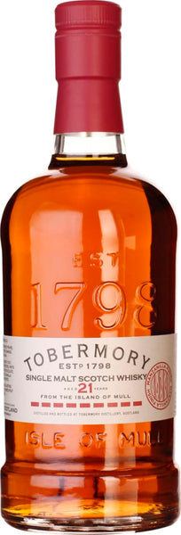 Tobermory 21 years Manzanilla Finish 70CL - Aristo Spirits