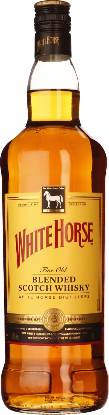 White Horse Blended Scotch Whiskey 1LTR - Aristo Spirits
