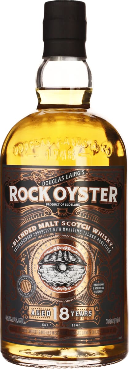 Douglas Laing's Rock Oyster 18 years Limited Edition 70CL - Aristo Spirits