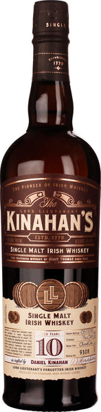 Kinahan's 10 years Single Malt 70CL - Aristo Spirits