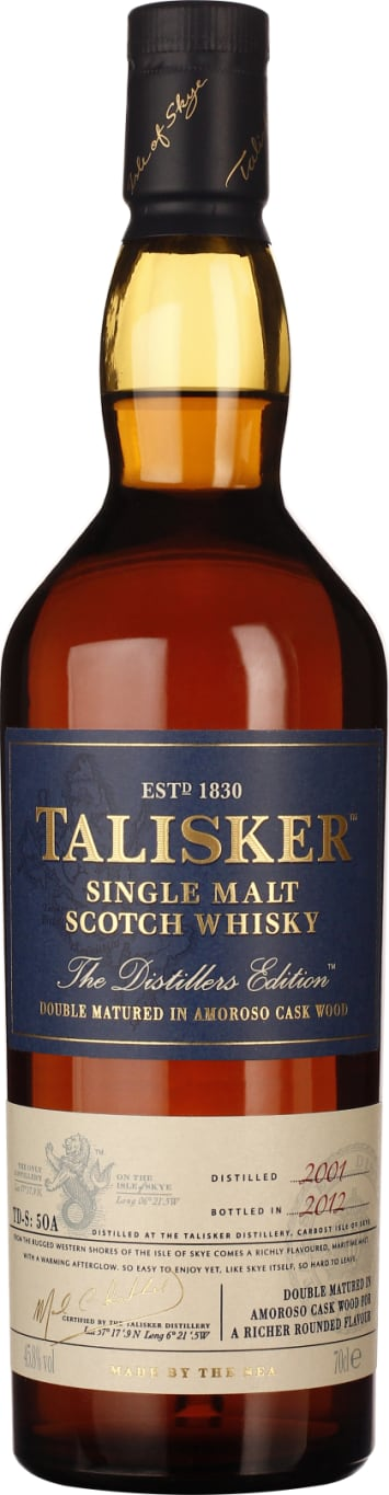 Talisker Distillers Edition 2001-2012 70CL - Aristo Spirits