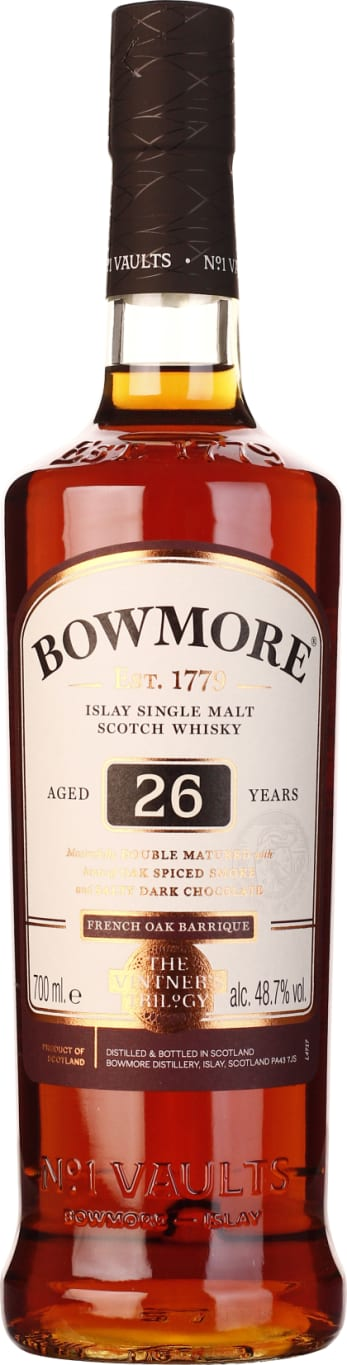 Bowmore Single Malt 26 years French Oak Barrique 70CL - Aristo Spirits