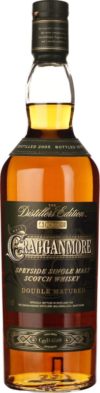 Cragganmore Distillers Edition 2005-2017 70CL - Aristo Spirits