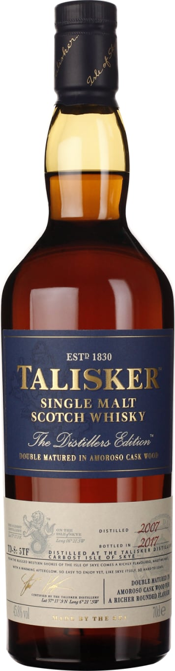 Talisker Distillers Edition 2007-2017 70CL - Aristo Spirits