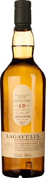 Lagavulin 12 years Cask Strength 2017 70CL - Aristo Spirits