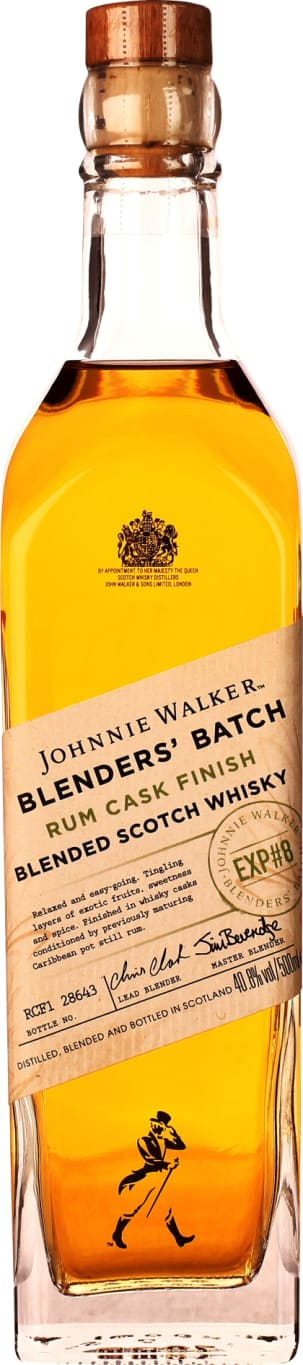 Johnnie Walker Rum Cask Finish Blenders Batch 50cl - Aristo Spirits