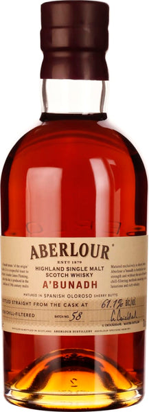 Aberlour A'Bunadh Batch 58 70CL - Aristo Spirits