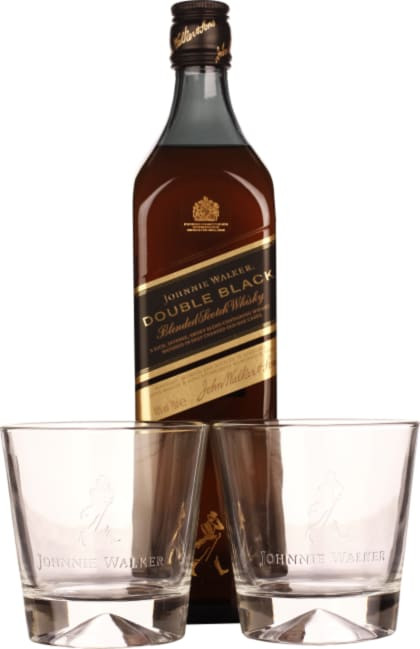 Johnnie Walker Double Black Label Giftset 70CL - Aristo Spirits