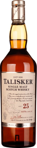 25 years Talisker Single Malt 2017 70CL - Aristo Spirits