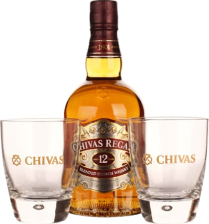 Chivas Regal 12 years Giftset 70CL - Aristo Spirits