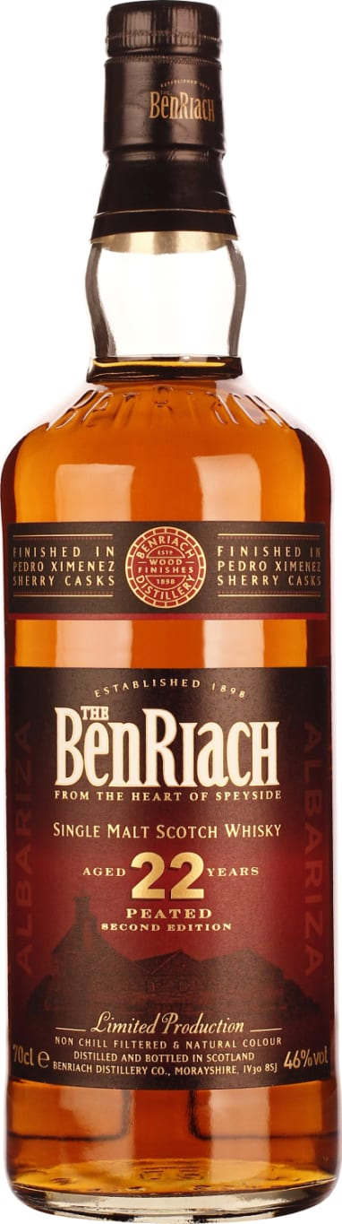 Benriach 22 years Albariza PX Peated 70CL - Aristo Spirits